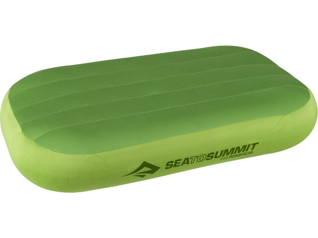 Sea to Summit Aeros Premium Almohada Deluxe, lime